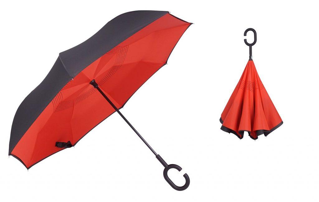 parasole putup odwracane reklamowe
